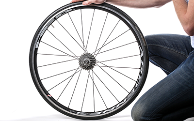 Entfernen Sie das Hinterrad