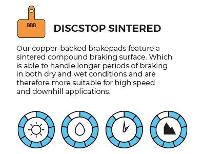 Discstop Sintered