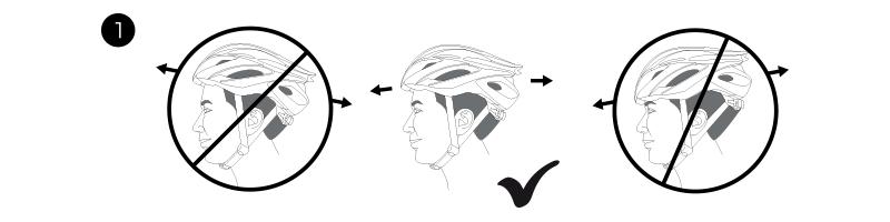 Helmet position