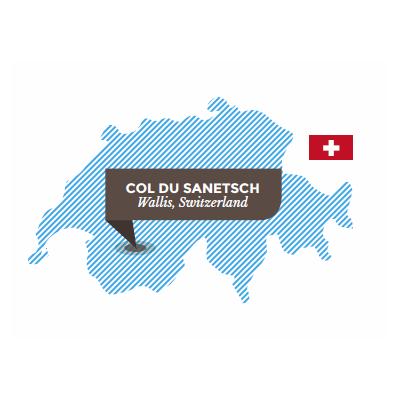 Sanetschpass. Wallis. Schweiz