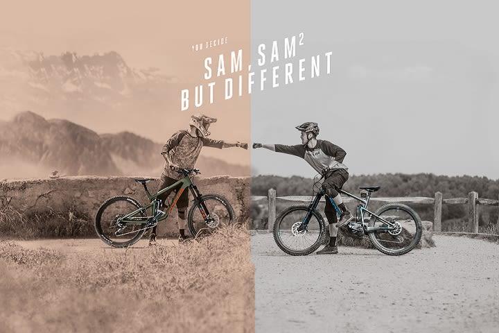 SAM, SAM² BUT DIFFERENT