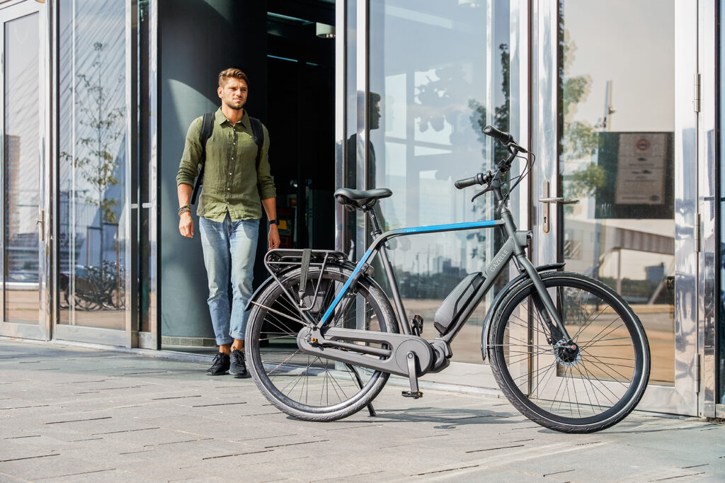 elektrische fiets of ebike