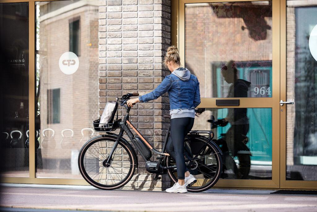 Motor elektrische fiets maakt lawaai