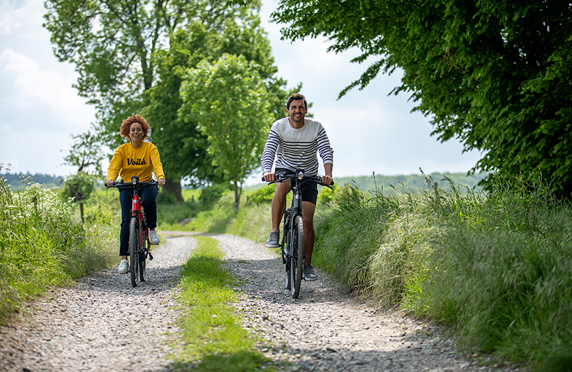 Gezonde levenstijl elektrisch fietsen
