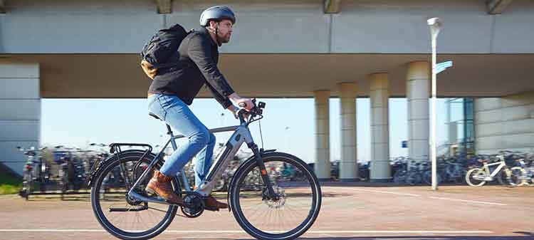 Calorieen verbranden elektrische fiets