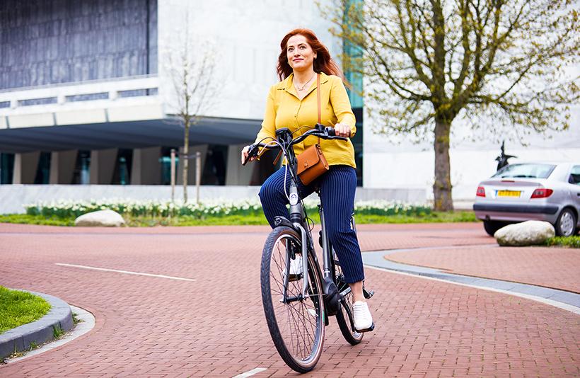 calorieen verbranden op elektrische fiets