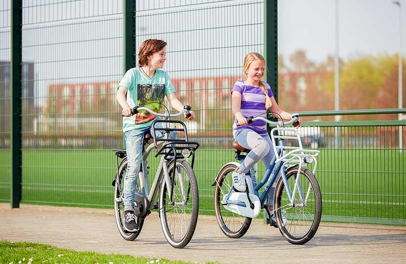 leer je kinderen fietsen