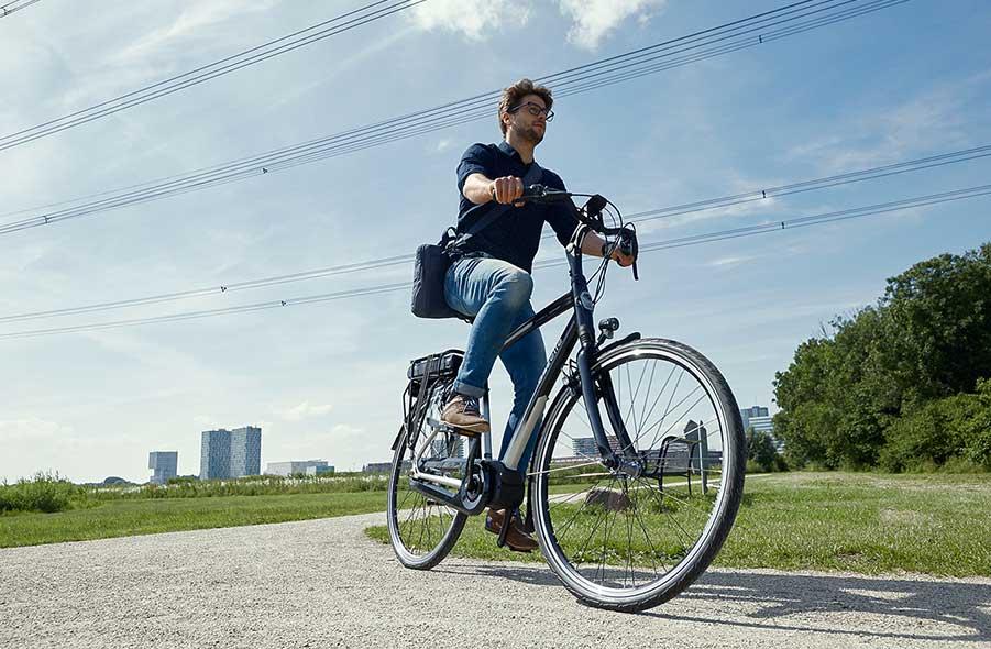 Op de fiets voor je gezondheid