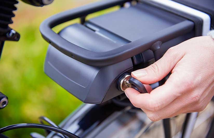 Accu elektrische fiets verwijderen