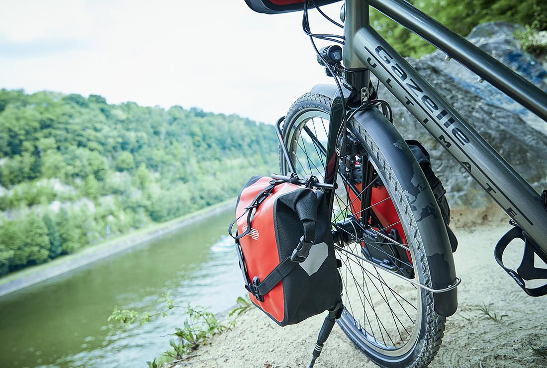 Wereldfietsreis op de fiets