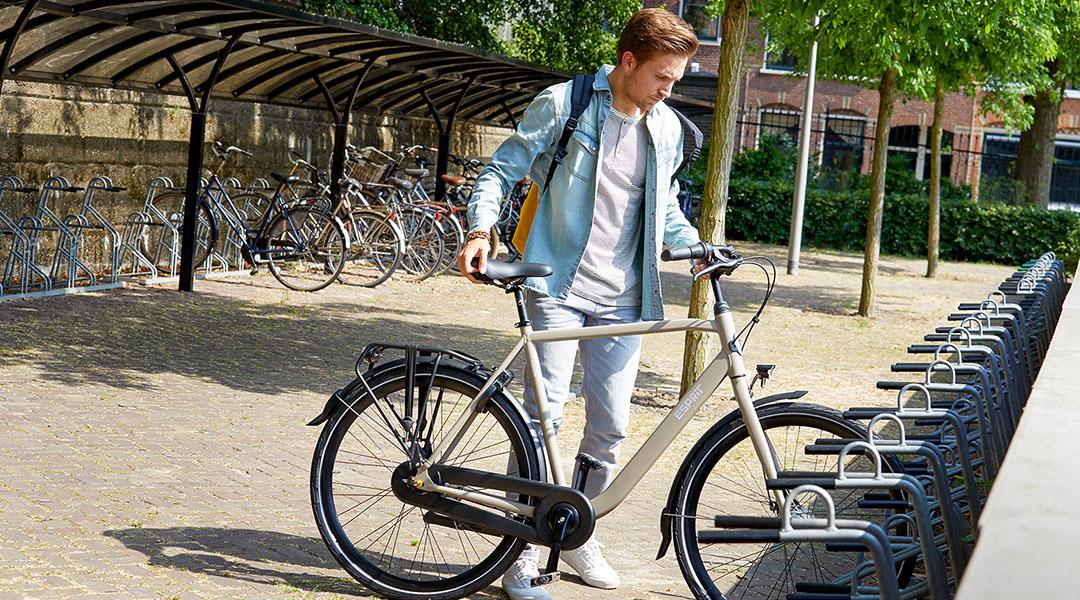Gazelle fietsen fietsenstalling