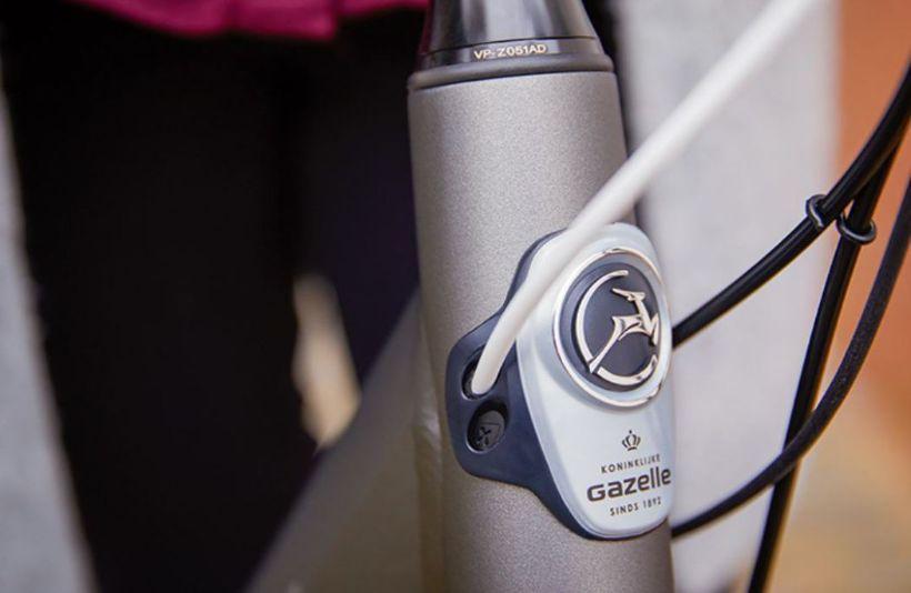 Close-up Gazelle E-bike