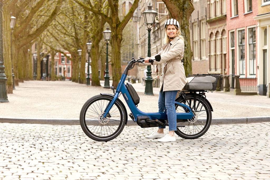 Fahrrad mit niedrigem Einstieg