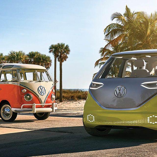 VW Minivan oud & nieuw