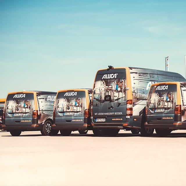 Commercial Vehicles Aluca, Pon