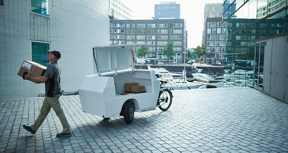 Pon.Bike acquires electric cargo bike brand Urban Arrow • Pon